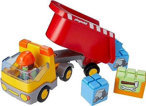 Playmobil - Camion Benne - 70126, Coloré