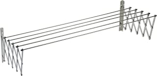 Sauvic 90805 Séchoir à Linge, INOX, 140 cm