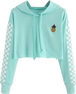 girls pineapple crop top