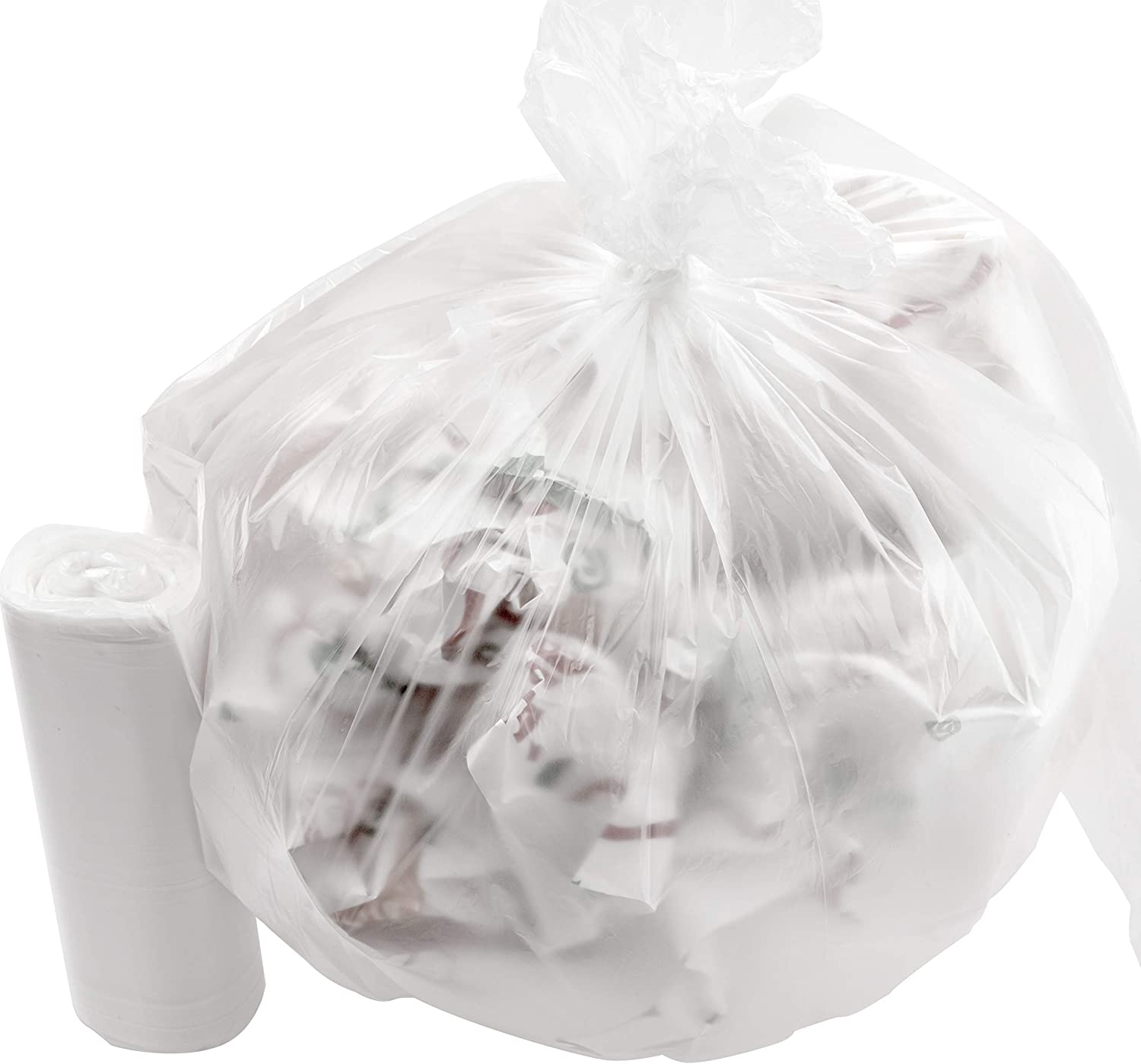 Leak-Proof Clear Selling 4 Gallon Trash online shop Can Coreles 1000Pk. Liners Small