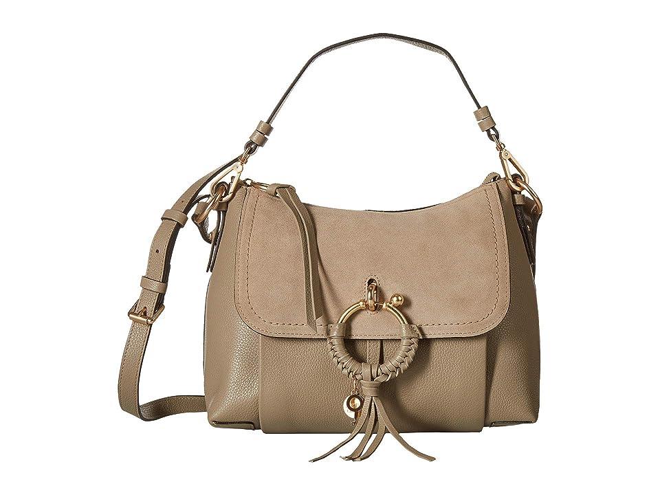 See by Chloe Joan Small Satchel (Motty Grey) Satchel Handbags