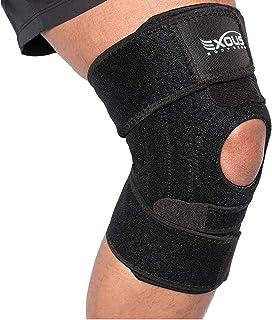 Protective Protective Extreme Protective PATELLA - تسکین دهنده Patella Tendonitis - Meniscus Tear زانو Jumper - ACL اپیلاسیون جانبی و مفاصل Sprains طراحی راحت FIT بدون لغزش برای آرتریت - ورزش - در حال اجرا
