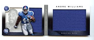 2014 Panini Playbook Rookie Jerseys #162 Andre Williams Giants /199 - Near Mint Condition Ships in New Holder