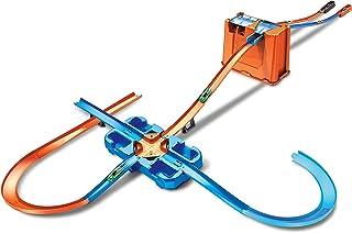 Hot Wheels GGP93 Track Builder Deluxe Stuntbox, met Railsets en Accessoires, Incl. 2 Auto's, Vanaf 6 Jaar