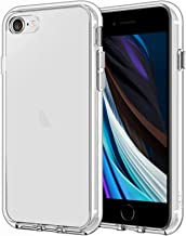 JETech Case Compatible with iPhone 8, Compatible with iPhone 7, 4.7-Inch, Shockproof Bumper Cover, Anti-Scratch Clear Back, HD Clear