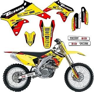 Team Racing Graphics kit compatible with Suzuki 2000-2004 DRZ 400, EVOLV