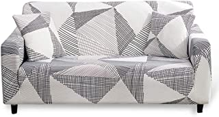HOTNIU Funda Sofa 3 Plazas (175-220 cm) Elastica Cubre/Protector Sofá Ajustables Estampado Fundas Decorativas para Sofas...