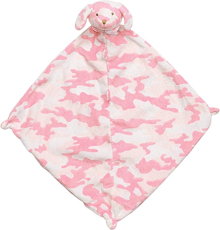 Angel Dear Blankie Pink Camo Puppy