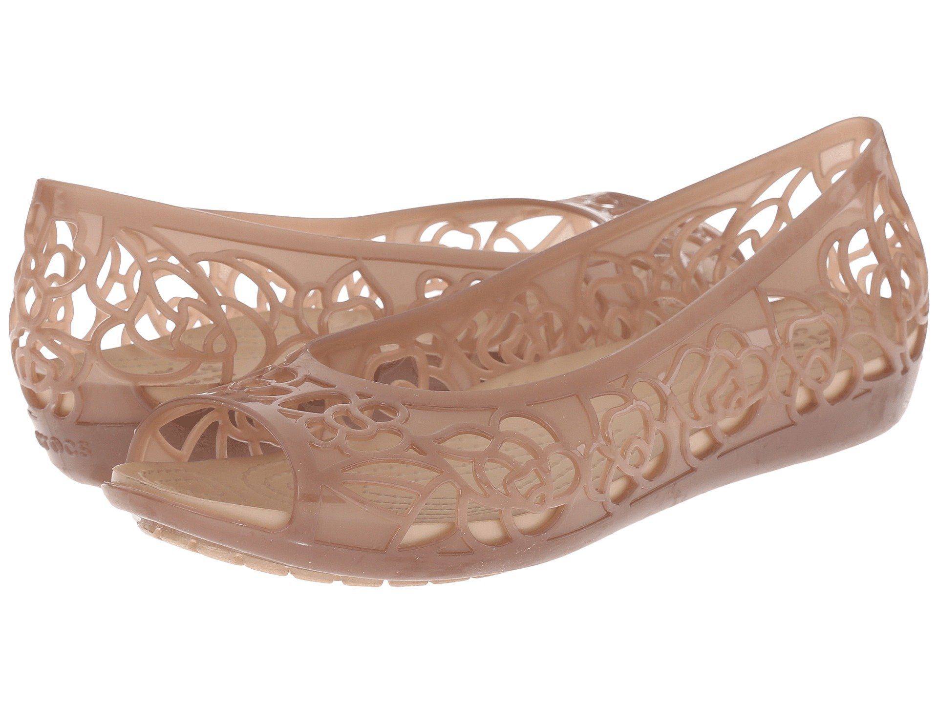 Baletas para Mujer Crocs Isabella Flat  + Crocs en VeoyCompro.net