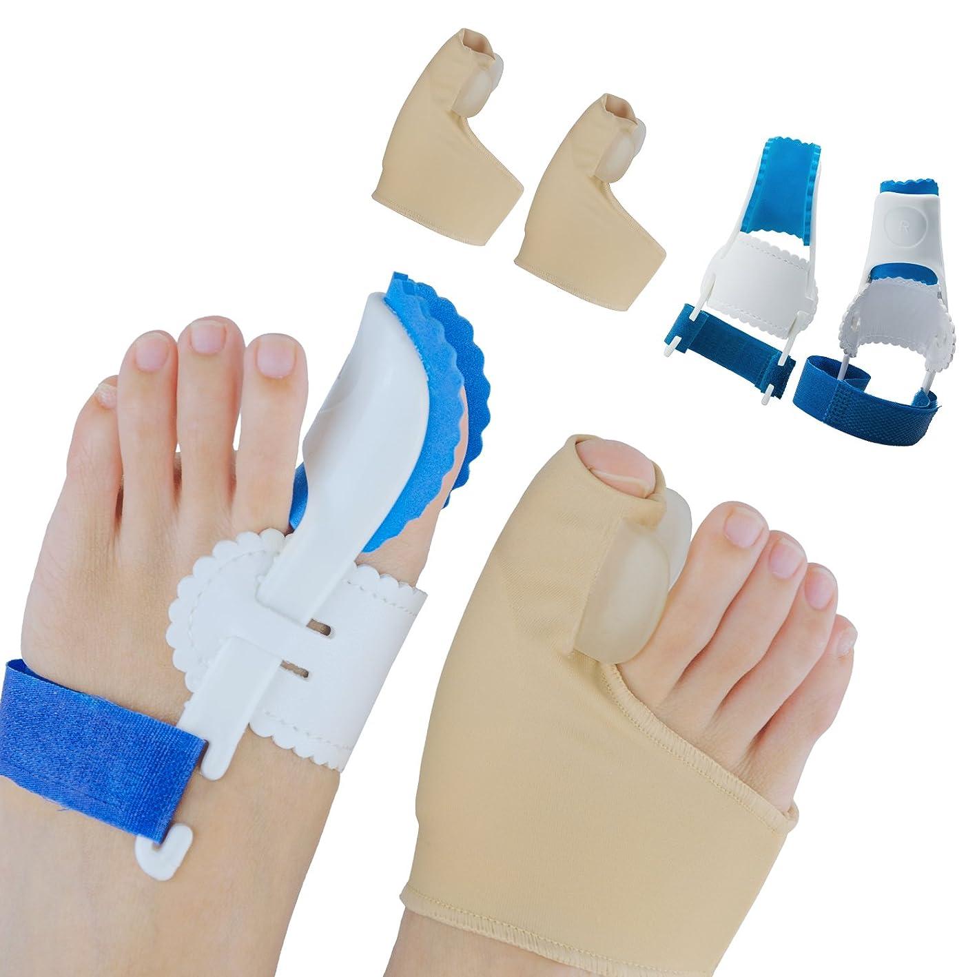 商品主張供給Sumifun外反母趾 専用 つま先セパレーター 矯正 ケア ベルト 寝ている間に親指矯正