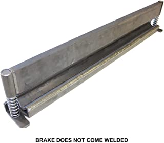 """SWAG Off Road 50"""" Press Brake DIY Builder Kit With Adjustable Back Stop."""