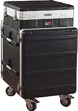 Gator Cases Lightweight ATA Molded Console Rack Case; 10U Pop-Up Top and 12U Side (GRC-10X12 PU)