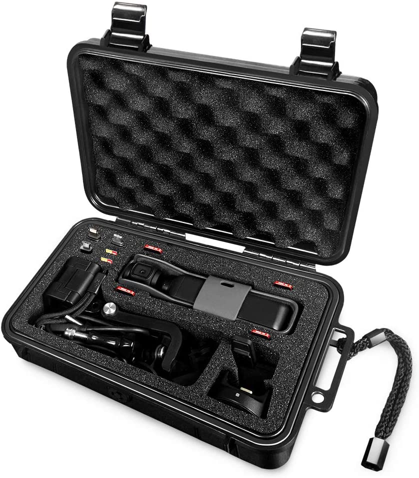 Lekufee Hard Carrying Case for DJI Osmo Pocket and More Accessories
