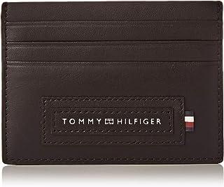 Tommy Hilfiger Modern Card Case Holder, Black, AM0AM06005