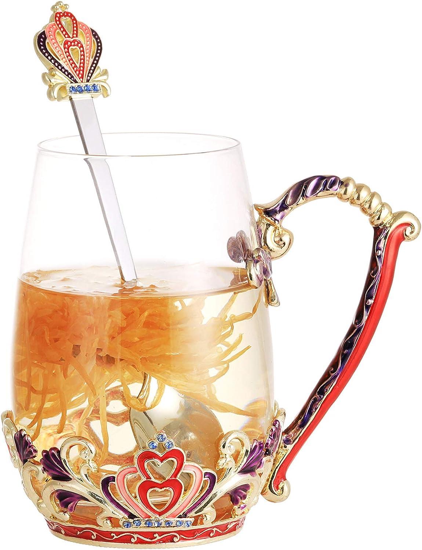 DAJAMAI Enamels Glass Mug Ranking TOP11 Dedication Lead-free Mugs Coffee with Cup