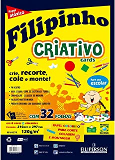Bloco Para Educação Artística Filiperson, Multicor