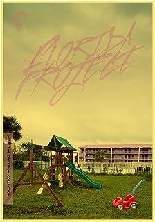 アメリカのドラマ映画フロリダプロジェクト キャンバス絵画ポスターホームウォールアート装飾絵画-50x75cmx1フレームなし