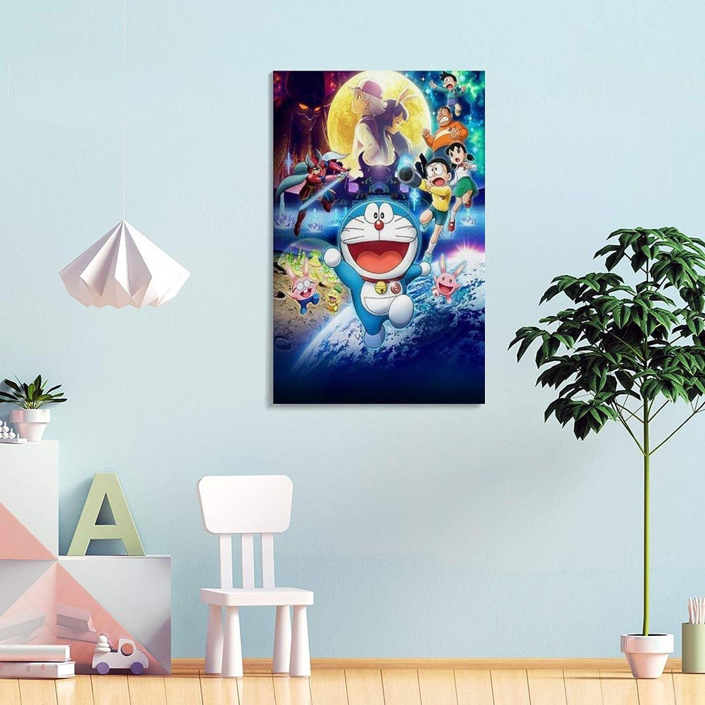 P/óster de lienzo y pared GJWL Doraemon 20 x 30 cm