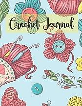 Crochet Journal: DIY Patterns Graphghan Paper Book (Knitting Crechet Spinning Project Notebook)