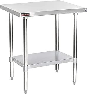 DuraSteel Stainless Steel Work Table 30