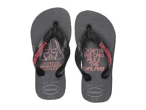 9ae519d907ee Havaianas Kids Max Star Wars Flip Flops (Toddler Little Kid Big Kid ...
