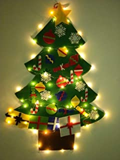 Best christmas tree out of lights on wall Reviews