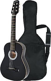 Sepia Crue セピアクルー ミニアコースティックギター W-50/BK ブラック (ソフトケース付)