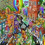 Ingooood- Jigsaw Puzzles 500 Pieces Adult- Detective Series (Playground)