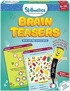 Skillmatics Educational Game: Brain Teasers (6-99 Years)