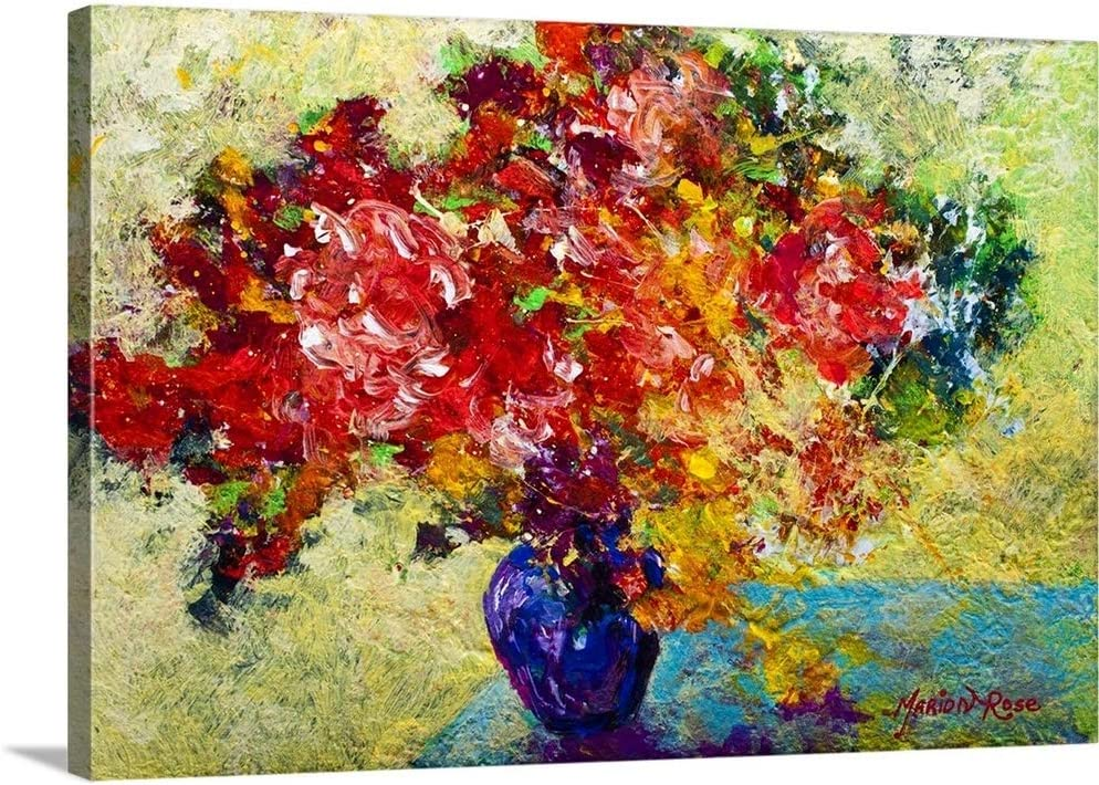 Abstract Floral I Canvas Excellent Art Print Max 56% OFF Wall Artwork