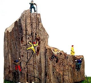 Langley Models 6 Rock Climbers N Scale UNPAINTED Metal Model People Figures A104