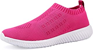 DMGYDAF Women's Lightweight Walking Athletic Shoes Breathable Mesh Sneakers Casual Running Shoes