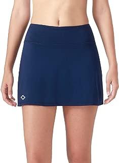 Naviskin Women's Active Athletic Skort Lightweight Skirt with Pockets Inner Shorts Perfect for Running Golf Tennis Casual Use