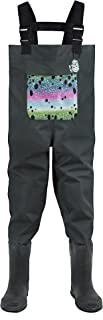 LONECONE Kids' Breathable Chest Waders with Boots
