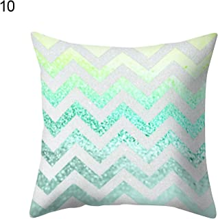 Cushion Cover - Cushion Cover 45x45cm Nordic Geometric Marble Throw Pillow Case Bed Home Decor - Animal Teal Velvet Graphic Flag Under Willow Large Printing Living Orange Rocking Green J
