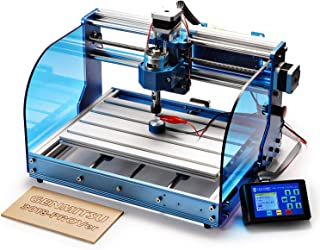 SainSmart Genmitsu CNC Fräs-/Graviermaschine 3018-PROVer Kit, mit Aluminium-Rahmen,..