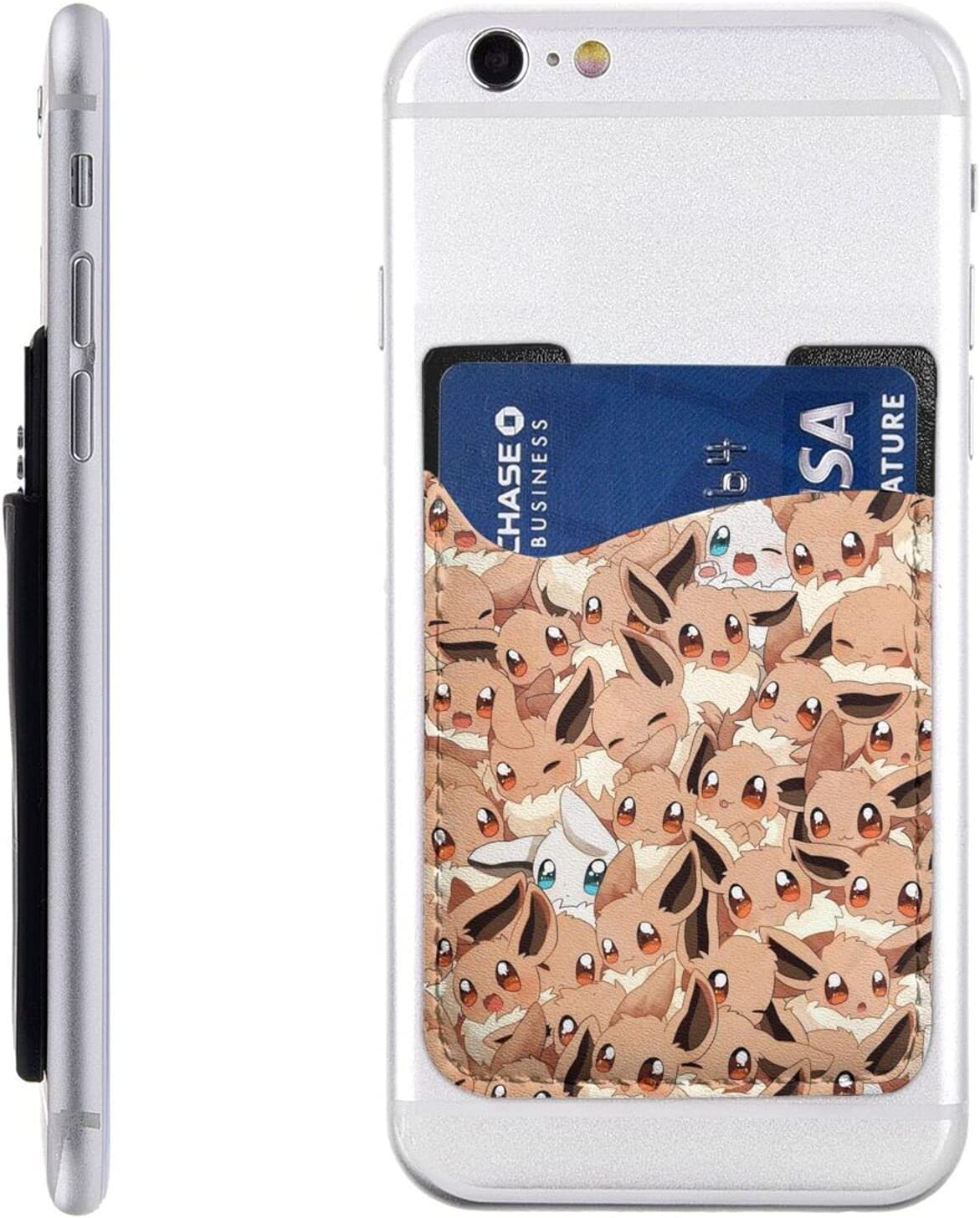 Mobile Phone Card Holder Adhesive 2021 model Cell Walle Atlanta Mall Stick On