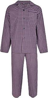 Espionage Mens Big Size Poly Cotton Navy/Red Check Pyjama's (120)