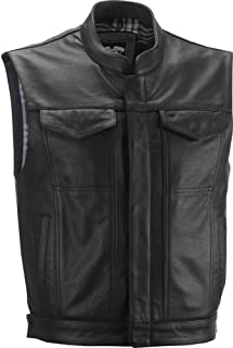 one leather vest