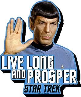 Aquarius Star Trek Spock Quote Funky Chunky Magnet