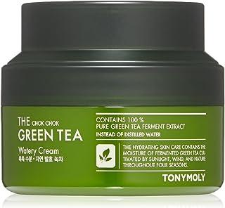 TONYMOLY The Chok Chok Green Tea Watery Cream, 3. 4 Fl Oz