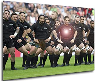 "9x7 /""photo sport rugby football Scrum Match encadrée Art Imprimé F97X829"