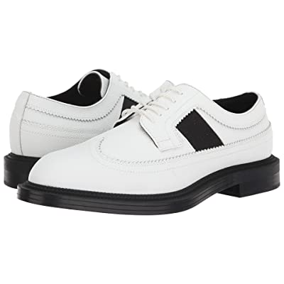 Calvin Klein Carper (White Scotch Grain Leather) Men