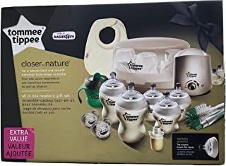 Tommee Tippee Closer to Nature BPA Free Extra Value Newborn Gift Set
