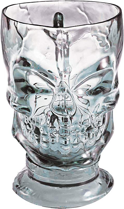 Forum Novelties Crystal Skull Drink Pitcher Horror Party Halloween Decoration Multi