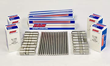 Elgin (16) Pushrods & (16) Roller Lifters compatible with 1997-2016 Chevy LS 4.8L 5.3L 6.0L 6.2L Chevy LS1 LS6 LS2 LS3 Vortec