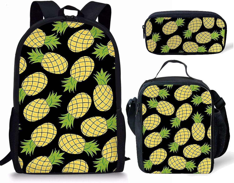 Showudesigns, Kinderrucksack Kinderrucksack Kinderrucksack Pineapple 2 Set B07FFW23ZC   Lebensecht  75d1e2