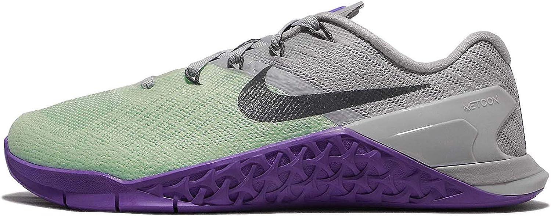 Nike Women's Metcon 3 Training shoes, Arctic Green Grey Hyper Grape