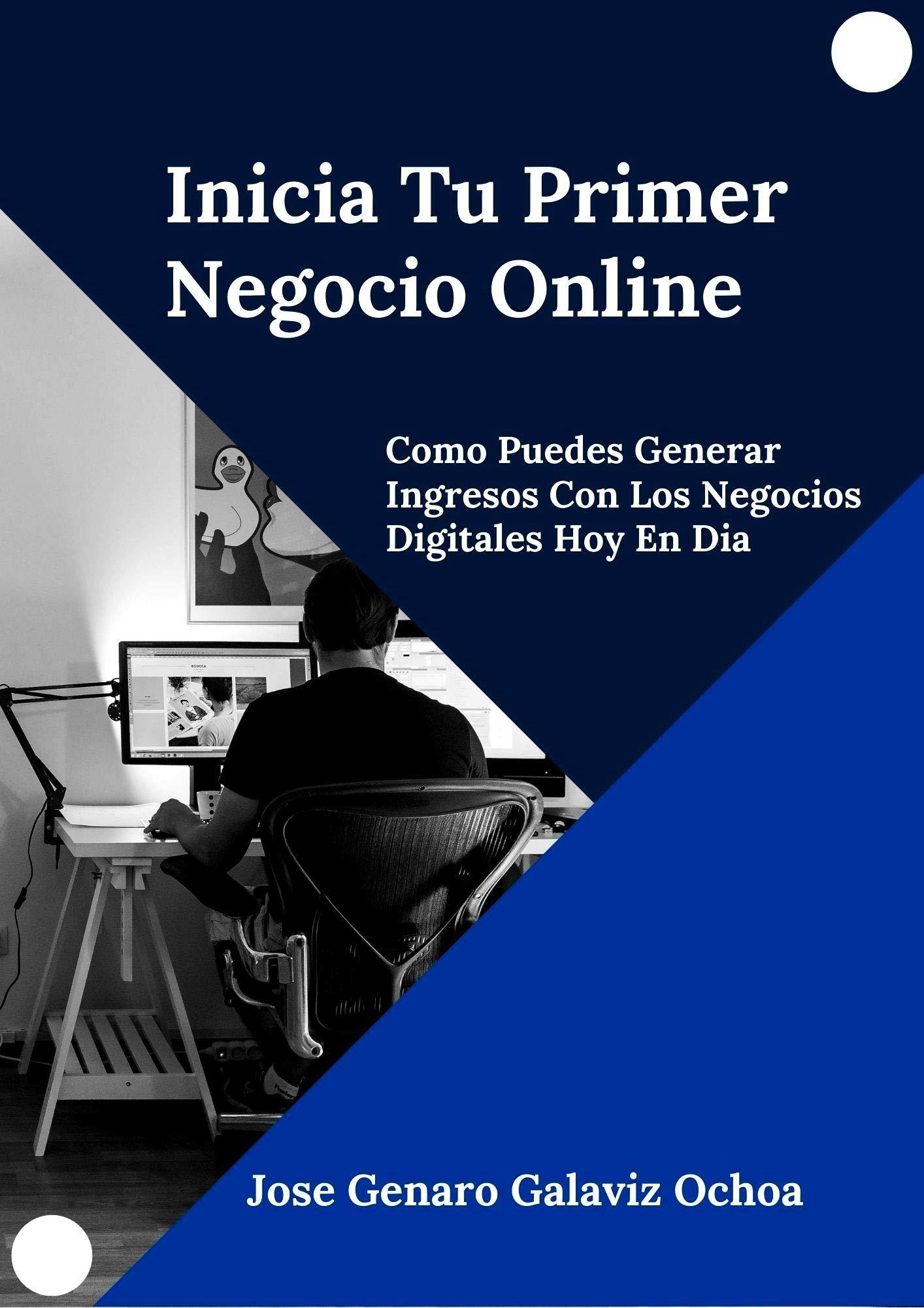 Inicia Tu Primer Negocio Online: Como Puedes Generar Ingresos Con Los Negocios Digitales Hoy En Dia (Spanish Edition)