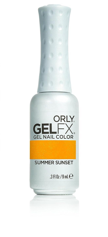 壁紙量土砂降りOrly GelFX Gel Polish - Summer Sunset - 0.3oz/9ml